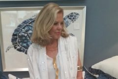 "Valerie Horn wearing ""example"""